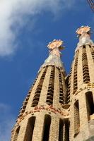 Sagrada family a-bell tower Stock photo [1370427] Sagrada