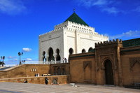 Mohammed V Mausoleum Stock photo [1372056] Morocco