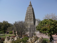 Mahabodhi temple aspect of India Bodh Gaya Stock photo [1374069] India
