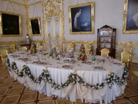 Catherine Palace white cafeteria Stock photo [1374083] White