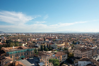 Italy Pisa city from the Leaning Tower of Pisa Stock photo [1374299] Italy