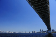 Tokyo Bay and Rainbow Bridge Stock photo [1375589] Sea