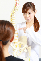 Manipulative teacher to explain to the patient for spine Bodywork