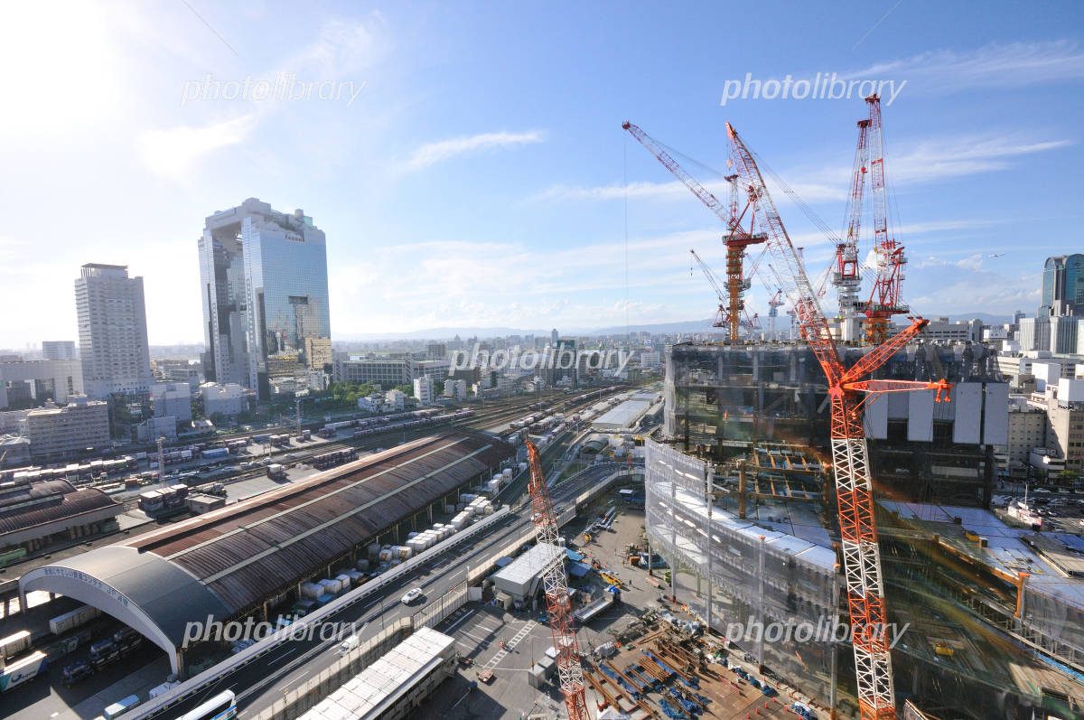 JR Osaka Station North Yard in redevelopment Photo