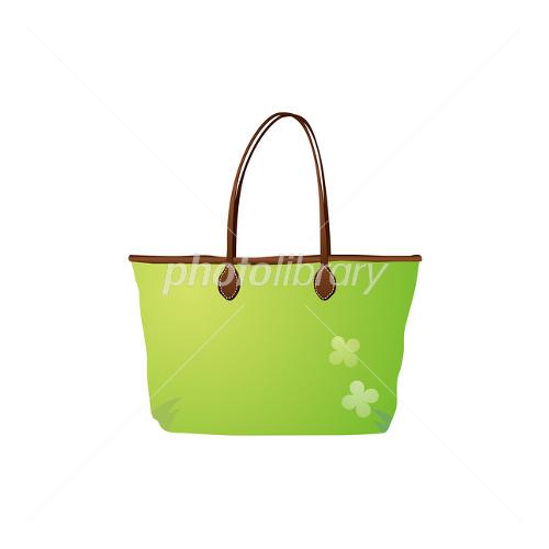 緑の鞄のイラスト イラスト素材 1460061 フォトライブラリー