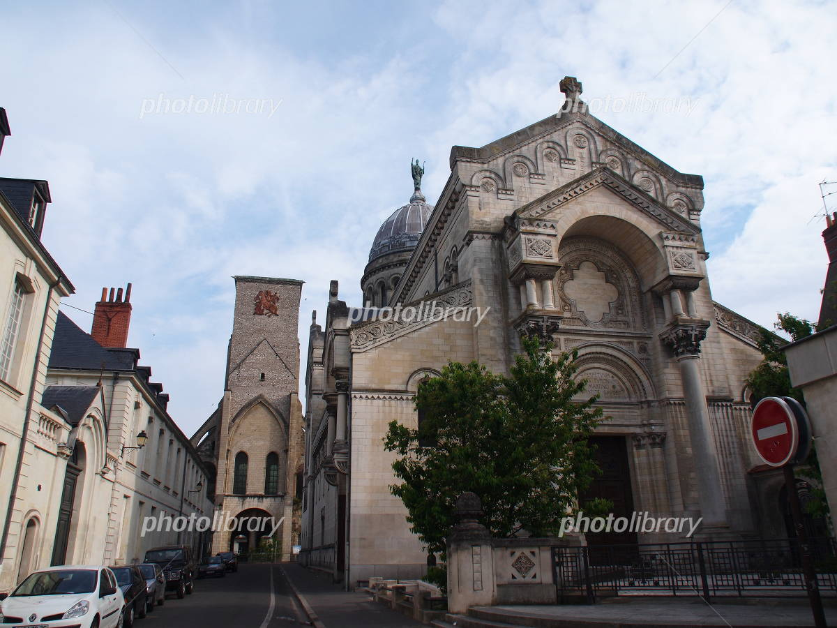 San Martin Basilica Cathedral of Tours Photo