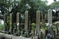 Kyoto Ryozen Gokoku Shrine Choshu samurai tomb End