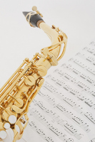 Sax and music Stock photo [1466076] Property