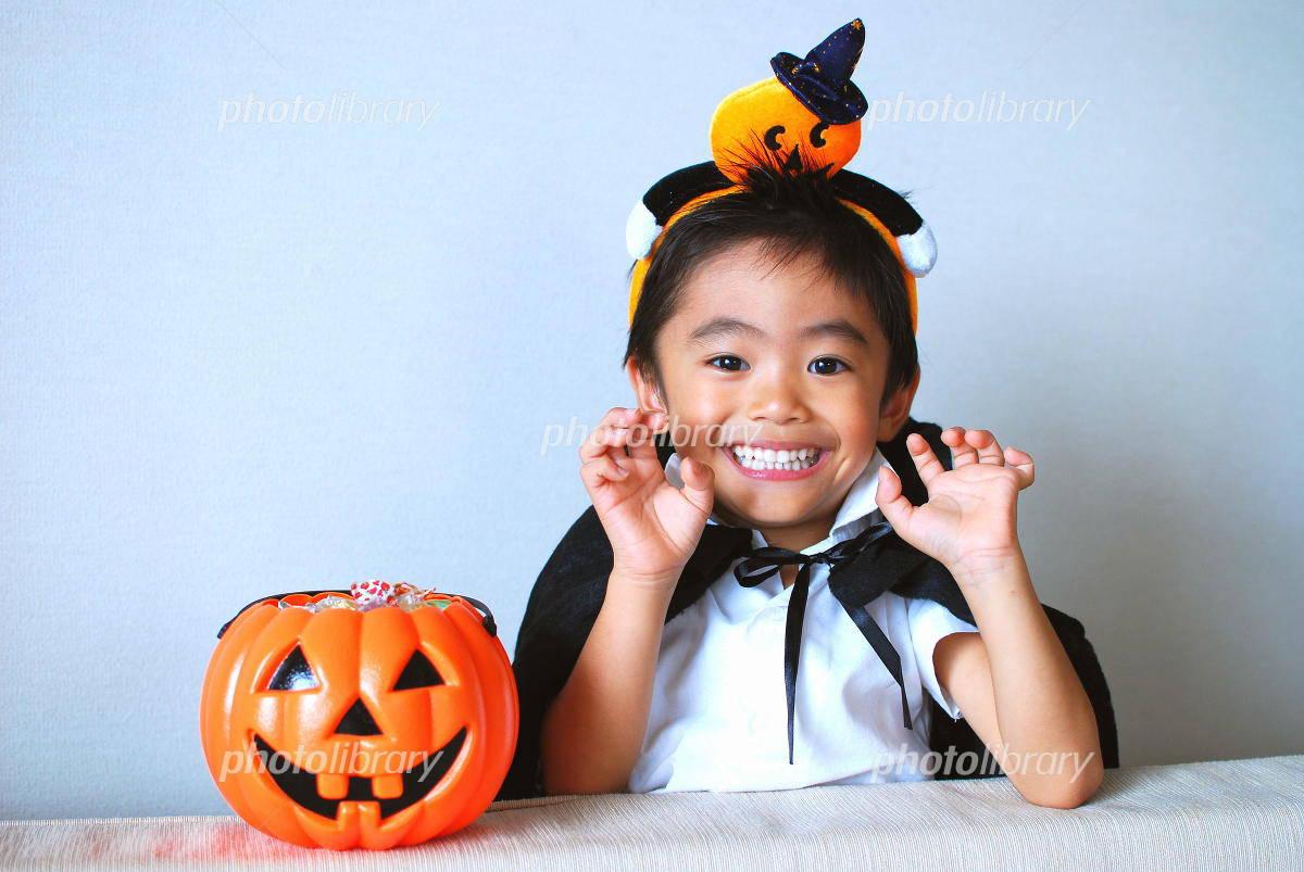 Halloween and children Photo