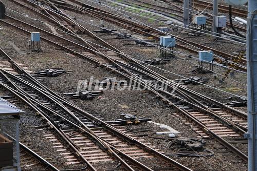 上野駅の複雑なポイント 写真素材 上野駅の複雑なポイント - 写真素材 ID:1565151