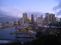 Skyscrapers from the Harbour Bridge Stock photo [1556336] Australia
