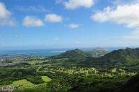 The view from the Nuuanu Paris observatory Stock photo [1557358] Hawaii