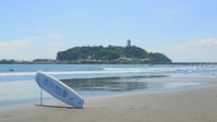 Enoshima and surfboard Stock photo [1560826] Enoshima