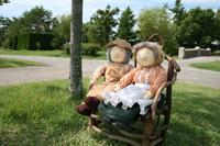 Elderly couple doll Stock photo [1561587] Elderly