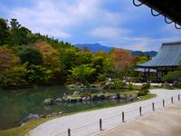 World Heritage Kyoto Tenryu-ji 曹源 pond garden Stock photo [1562413] Historic