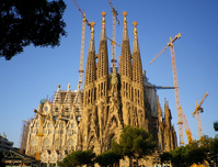 Sagrada Familia sunrise Stock photo [1562773] Sagrada