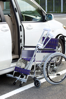 Wheelchair and car Stock photo [1563108] Wheelchair