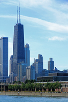 Chicago John Hancock Center Stock photo [1564000] America