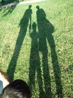 Shadow of family Stock photo [1565337] Family