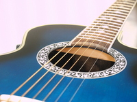 Acoustic guitar Stock photo [1566076] Musical