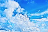 Late summer of typhoon cloud Stock photo [1566311] Typhoon