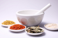 Chinese herbal medicine Stock photo [1566456] Safflower