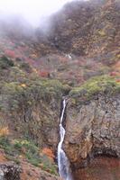 Kurikoma autumn leaves and waterfall Stock photo [1568138] Miyagi