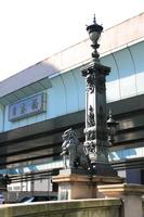 Lions of Tokyo Nihonbashi newel Stock photo [1568392] Important