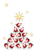 Christmas Santa Claus decorations illustrations [1568438] Santa
