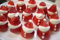 Strawberry of Santa Claus Stock photo [1569076] Christmas