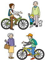 The thoughtfulness of give and take by bicycle [1569081] Bike