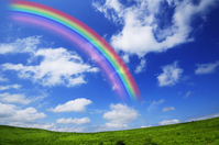 Rainbow take plateau Stock photo [1570659] Rainbow