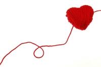 Hearts and thread Stock photo [1571300] Hart