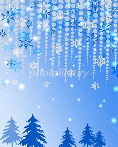 クリスマス風景 イラスト素材 1671339 フォトライブラリー
