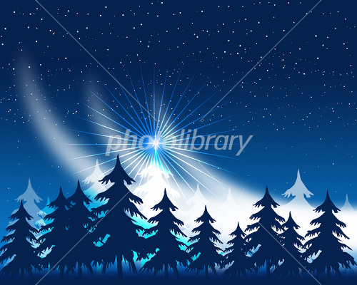 クリスマス風景 イラスト素材 1673785 フォトライブラリー