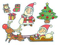 Christmas material set [1661871] Christmas