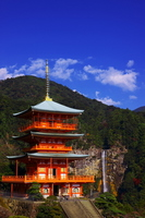 Waterfall of triple tower and Nachi Stock photo [1662038] Wakayama