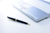 PC and pen Stock photo [1662187] PC