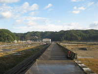 Seawalls and tsunami damage of Taro Stock photo [1664411] Great