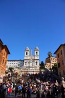 Piazza di Spagna in Rome Stock photo [1665038] Italy