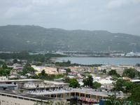 Jamaica Montego Bay skyline landscape Stock photo [1666035] Montego