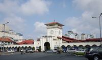 Vietnam Ho Chi Minh Ben Thanh market entrance Stock photo [1667219] Ben