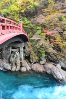 Nikko shinkyo bridge Stock photo [1669670] Tochigi