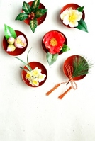 The sum of winter flowers new year images Stock photo [1670152] New