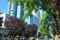 Vancouver skyline Stock photo [1671893] Vancouver