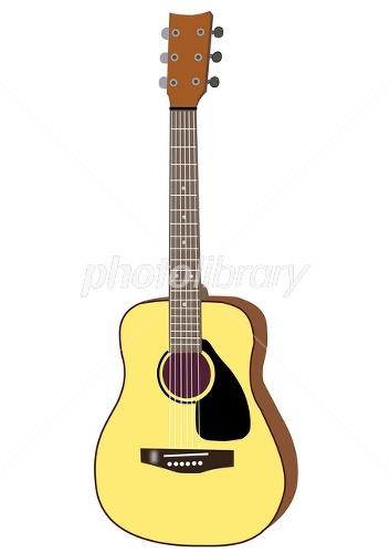 アコースティックギターイラスト イラスト素材 1747978 フォト