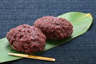 Ohagi 揃 Contact Hagi, rice dumpling covered with red bean paste, two Stock photo [1748179] Ohagi