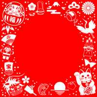 Japan's New Year background [1749255] New