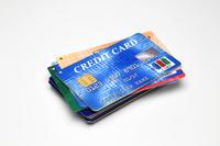 Blue credit card Stock photo [1837252] Cart