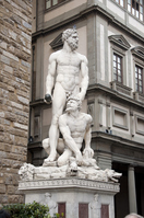 Signoria sculpture Square Stock photo [1841570] Hercules